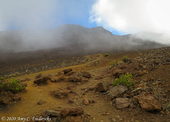 Haleakala NP HI - Out of the crater