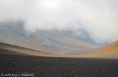 Haleakala NP HI - Looking down