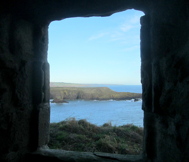 Dunnottar Castle Window