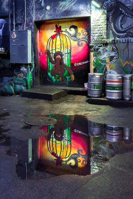 Freak Alley Downtown Boise (Explored 1/27/2020)
