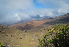 Haleakala NP HI - Into the crater!