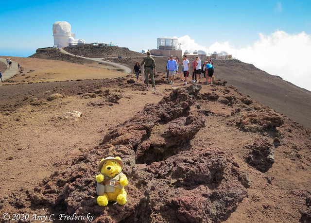 Haleakala NP HI - Pooh!