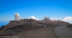 Haleakala NP HI - All the telescopes!