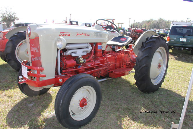 1953 Ford Golden Jubilee NAA Utility Tractor