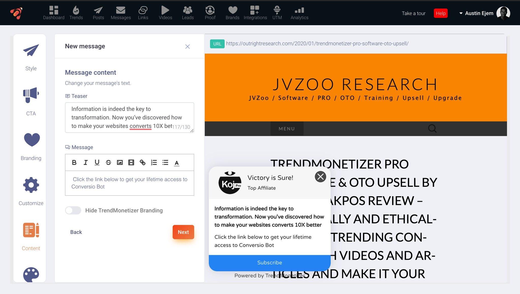 TrendMonetizer Review