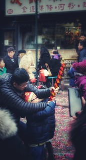 special moments in Chinatown, NYC