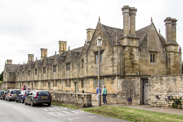 Almshouses, Chipping Campden, England