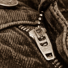 Levi's zip puller