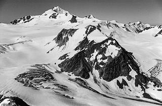 Ötztaler Alpen (Back in the Day) - the Wildspitze (3768m) from the Linker Fernerkogel (3277m)
