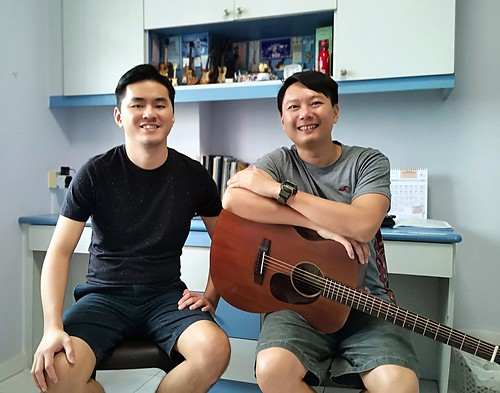 Beginner guitar lessons Singapore David