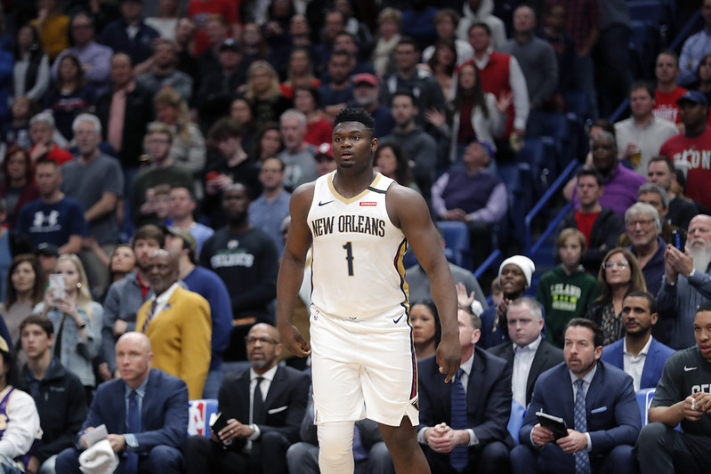 Zion Williamson。(達志影像)