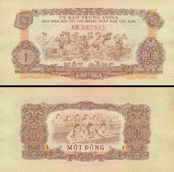 1 Dong Juž.Vietnam 1963 R4