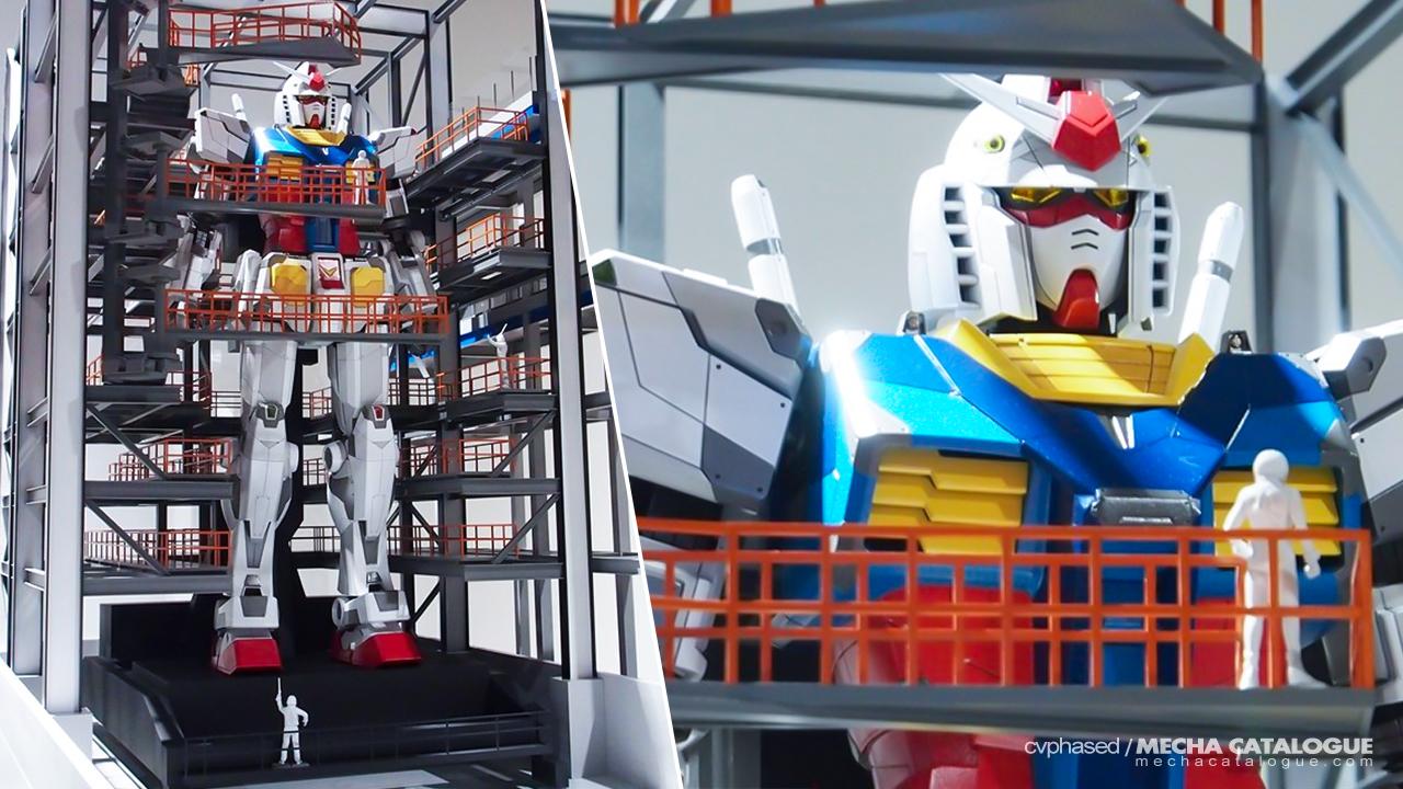 Gundam Factory Yokohama Design Reveal and Details