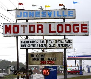 Jonesville Motor Lodge