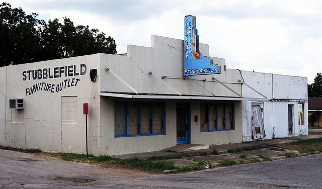 Abandoned Stubblefield Furniture - Luling,Texas