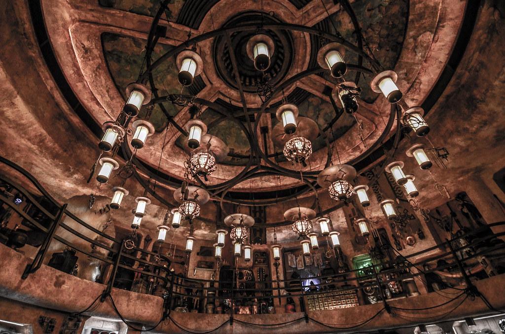 Dok Ondar's SWGE chandelier DL