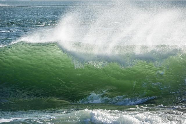 vagues émeraude