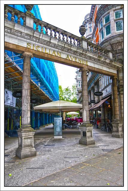 Sicilian Avenue, Holborn, London, England UK