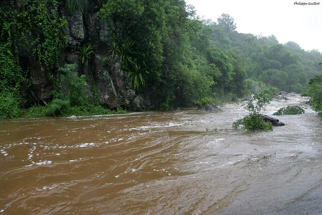 La Rivière d'Abord en crue