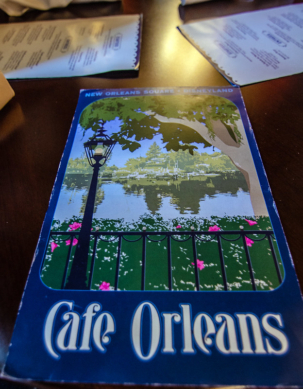 Cafe Orleans DL menu