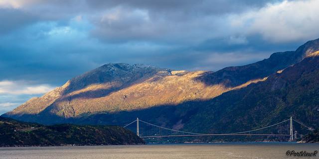 Hardanger-Bridge after sunrise - Eidfjord, Norway (explored)