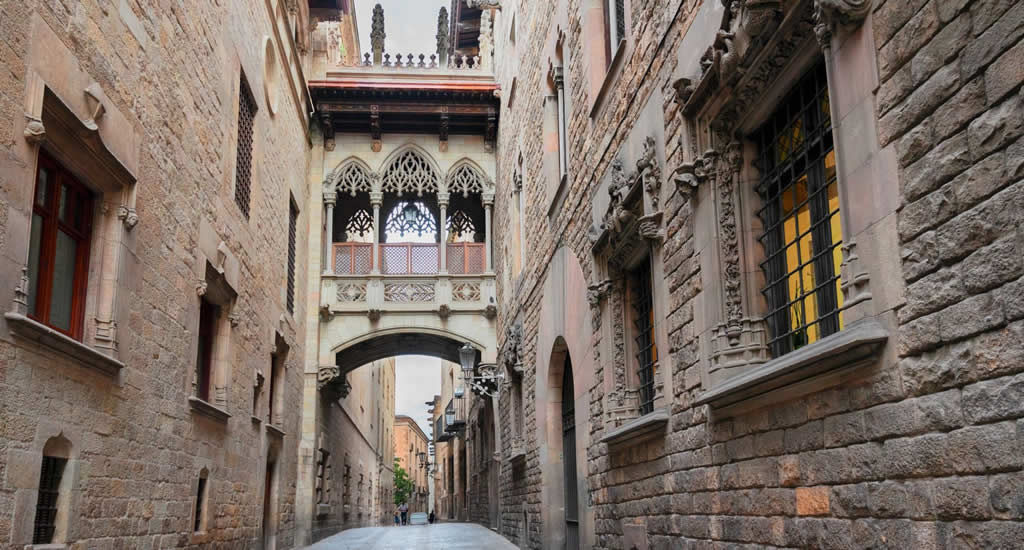 Weekendje Barcelona: Barri Gotic | Mooistestedentrips.nl