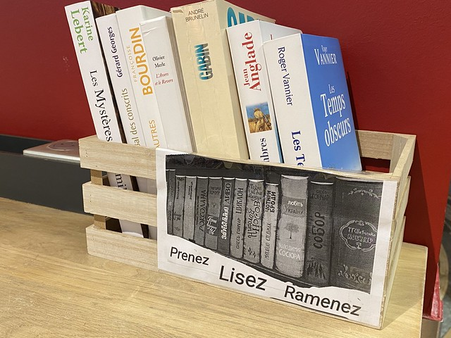 Franprix boîte livres