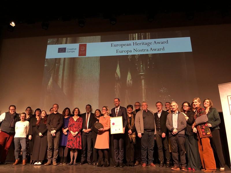 Ceremony for VERONA: Van Eyck Research in OpeN Access, Belgium