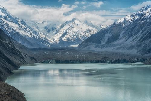 newzealand mountcook glacier tasmanlake tasmanglacier ice iceburg mountains water lake snow southisland boat blue climate change cloudsstormssunsetssunrises clouds aoraki