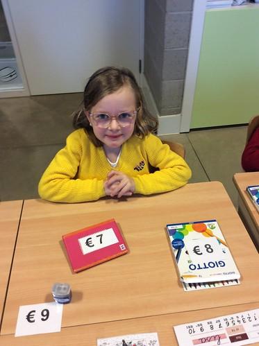 1e Leerjaar: Spelend leren omgaan met geld