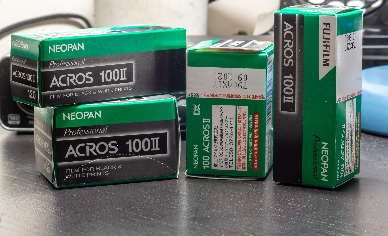 Film Review Blog No. 59 - Fujifilm Neopan Acros 100 II