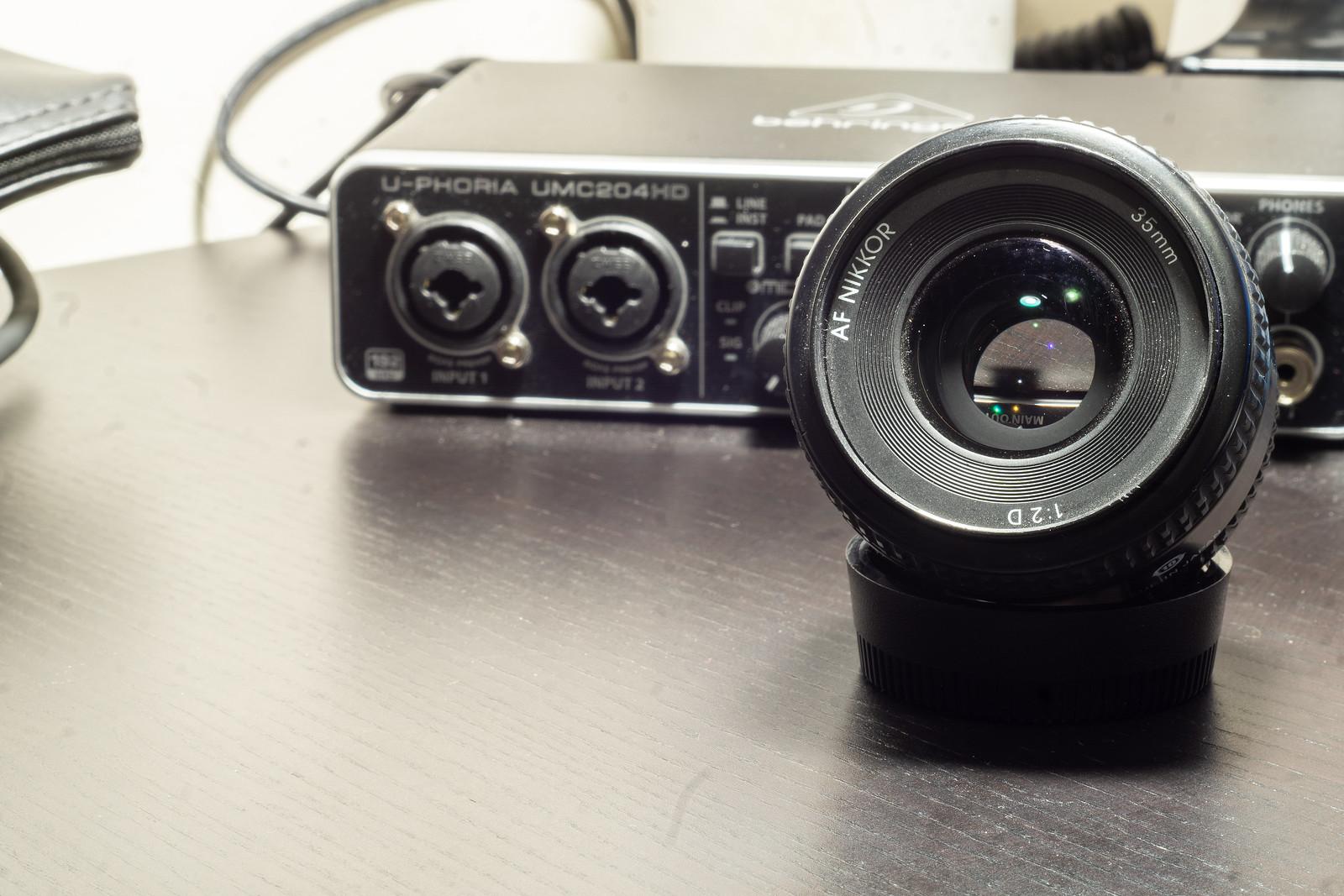 Optical Review Blog No. 06 - Nikon AF Nikkor 35mm 1:2D