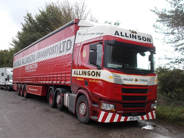 Scania R450 - Allinson
