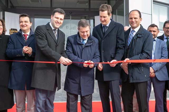 Inauguración de la nueva planta de la multinacional Bell Group