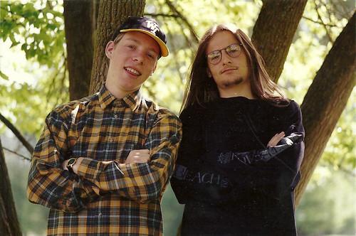 Joel and Hanuš_1992