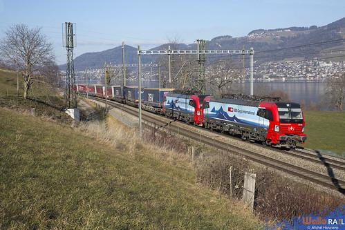 193 467 + 193 470 . SBB Cargo . Kumm . 20.01.20.