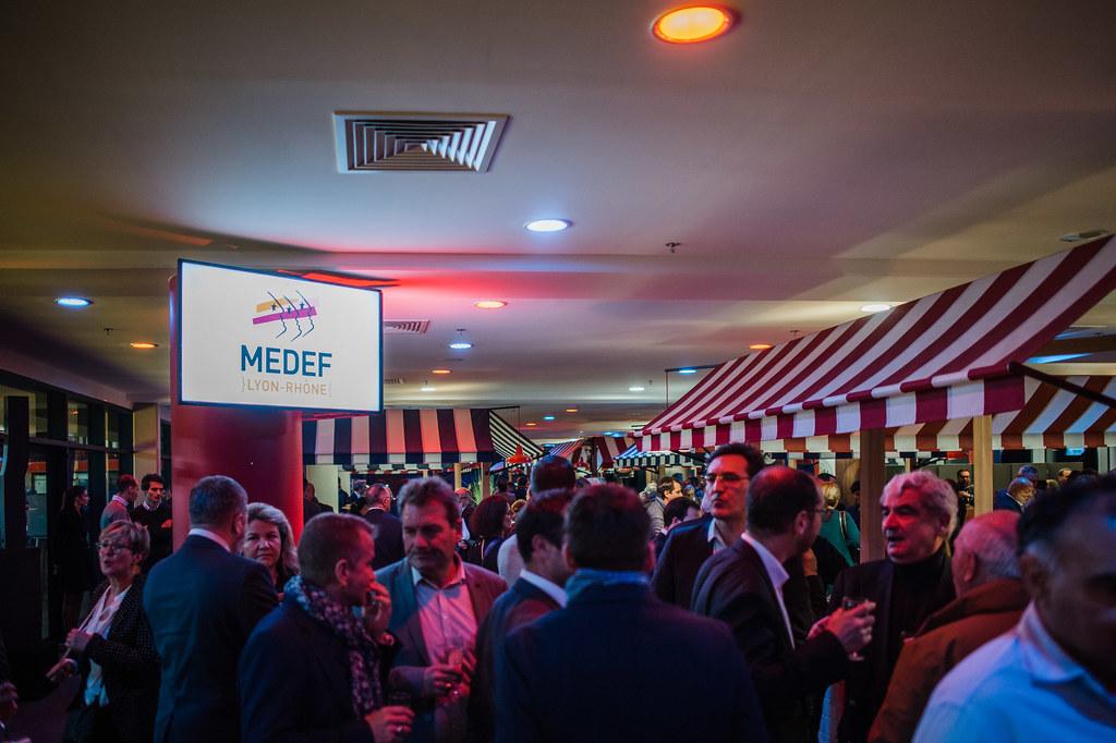 Cérémonie des voeux du MEDEF Lyon-Rhône - 27 janvier 2020 - Groupama Stadium