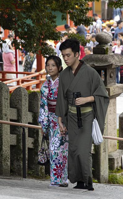 Fushimi Inari-Besucher
