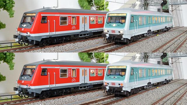 Roco 64205 und 64208 By-Steuerwagen der DB AG
