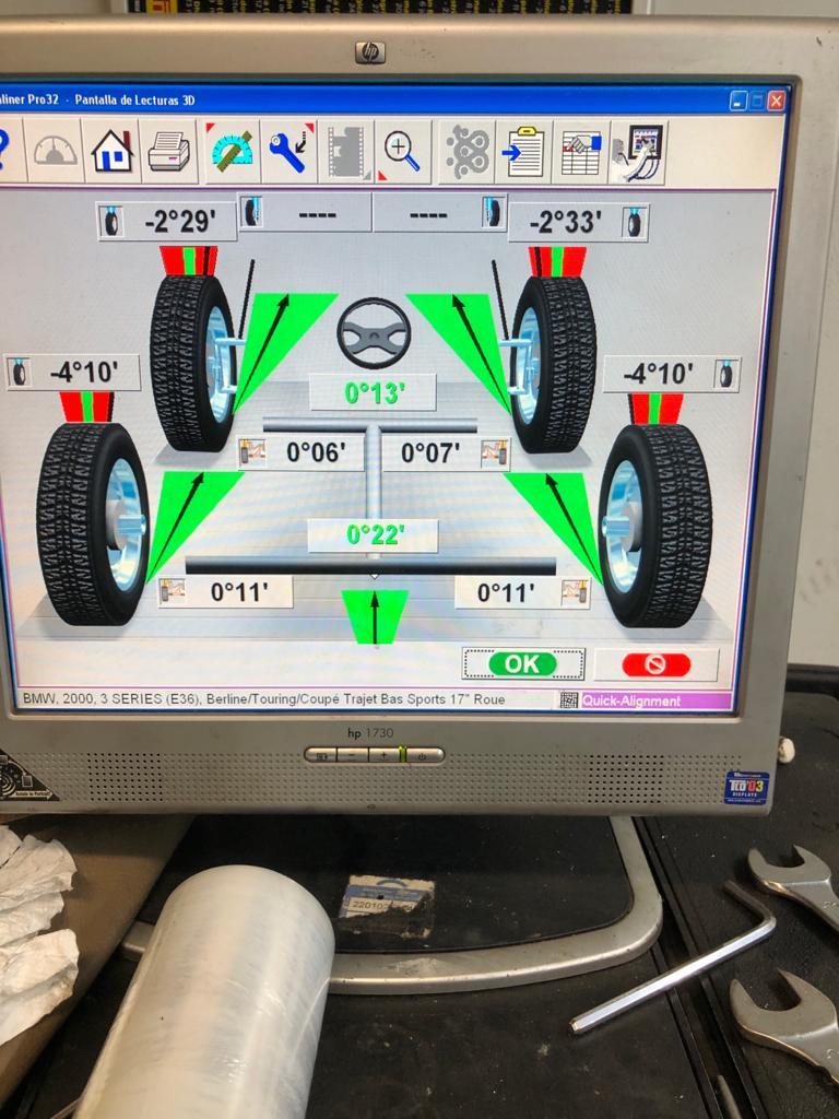 wheel aligment bmw e36 328i