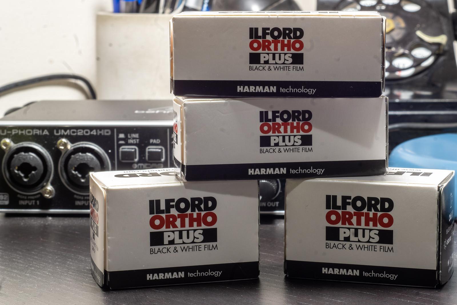 Film Review Blog No. 61 - Ilford Ortho Plus