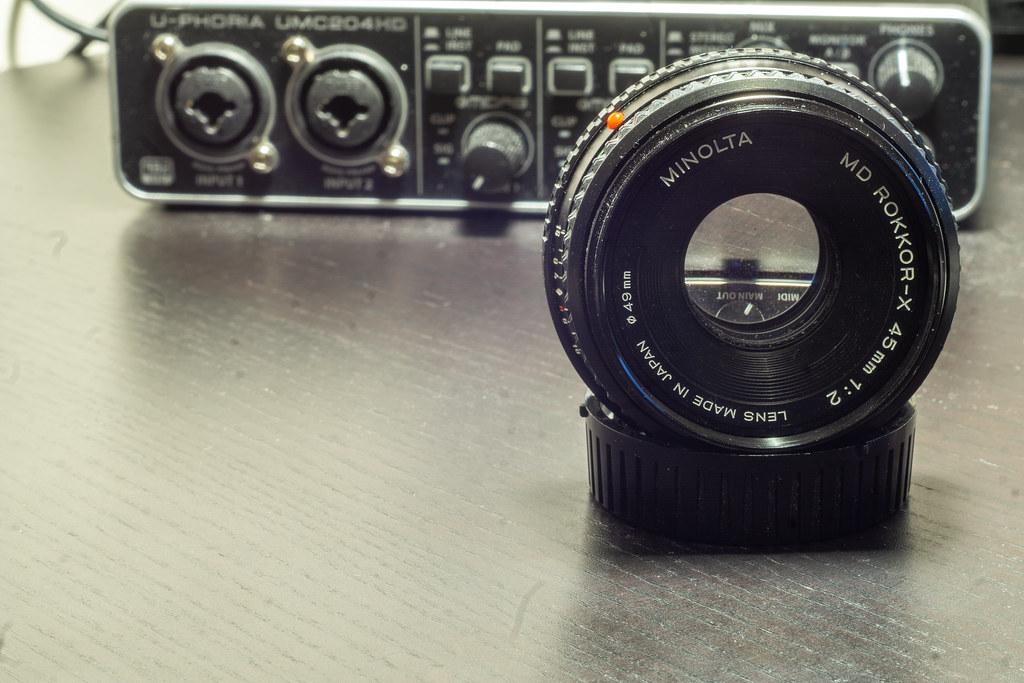 Optical Review Blog No. 05 - Minolta MD Rokkor-X 45mm 1:2