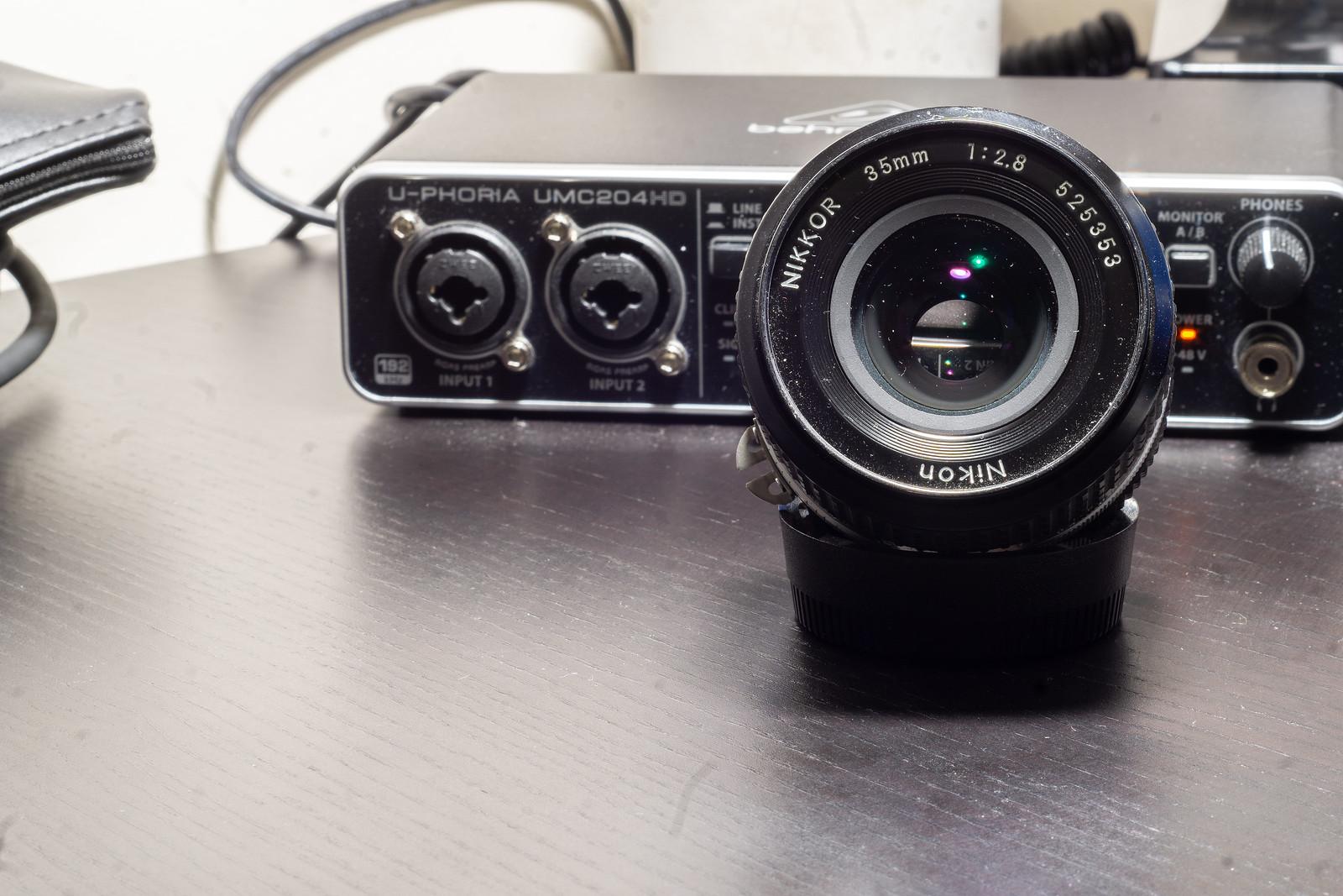 Optical Review Blog No. 07 - Nikon AI-S Nikkor 35mm 1:2.8