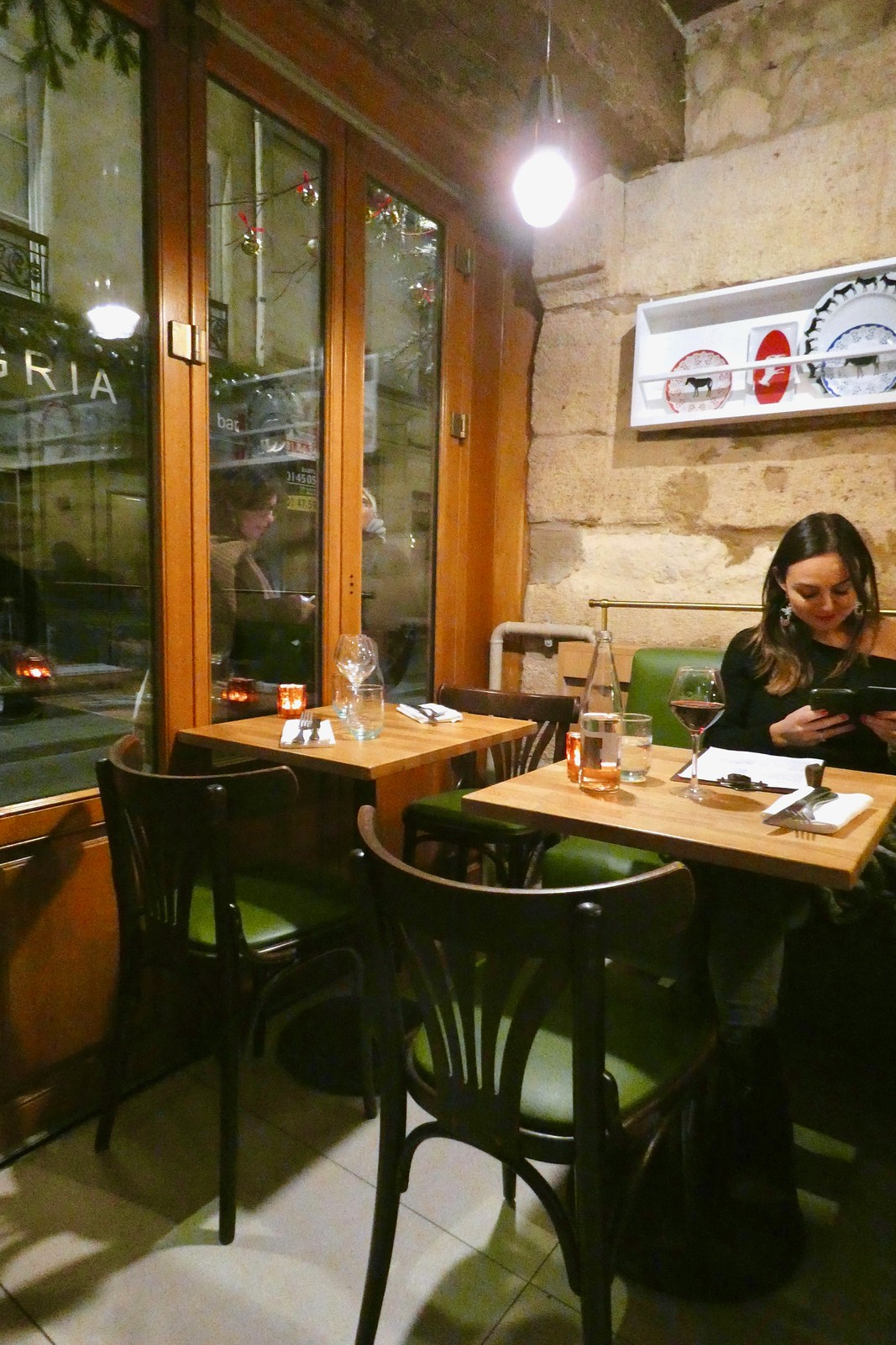 Restaurant Evi Evane, Paris