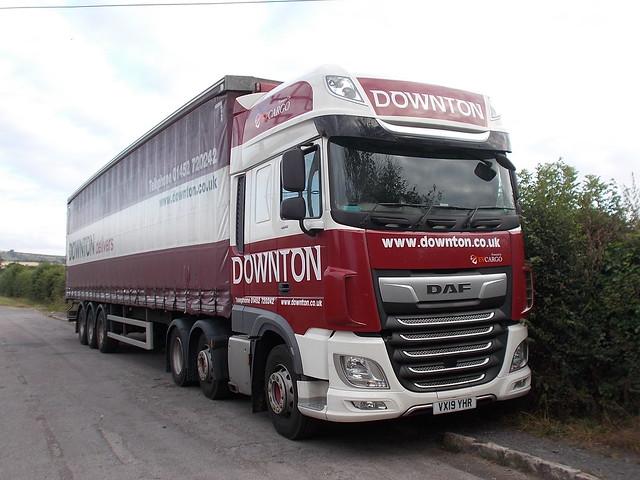 DAF XF - Downton