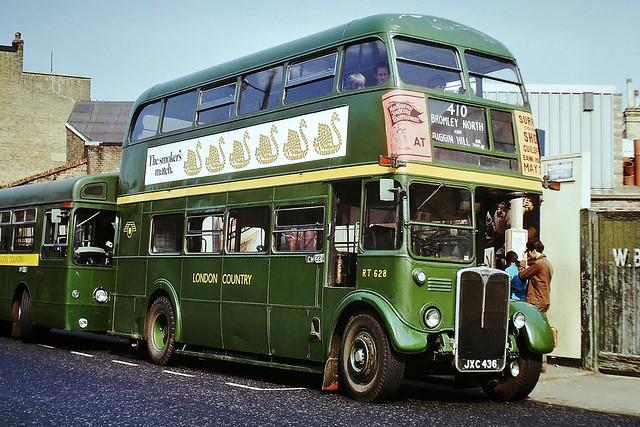RT628 JXC436  ---  Bromley North 18-5-74