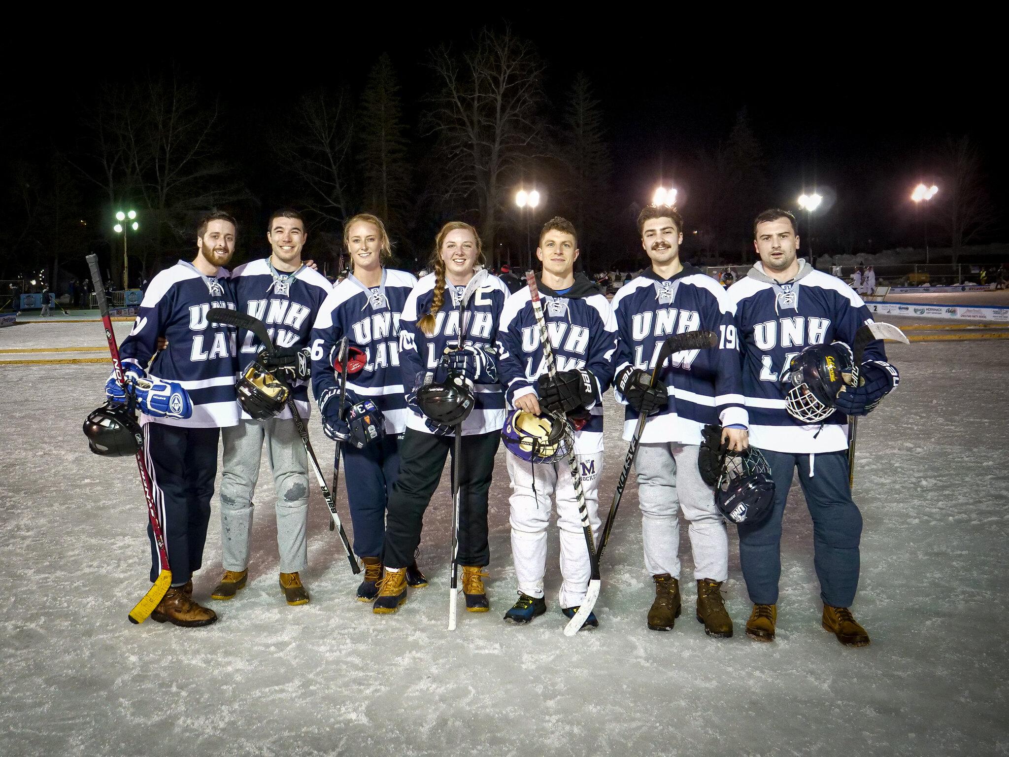 2020 Alumni Winter Party and Black Ice Pond Hockey