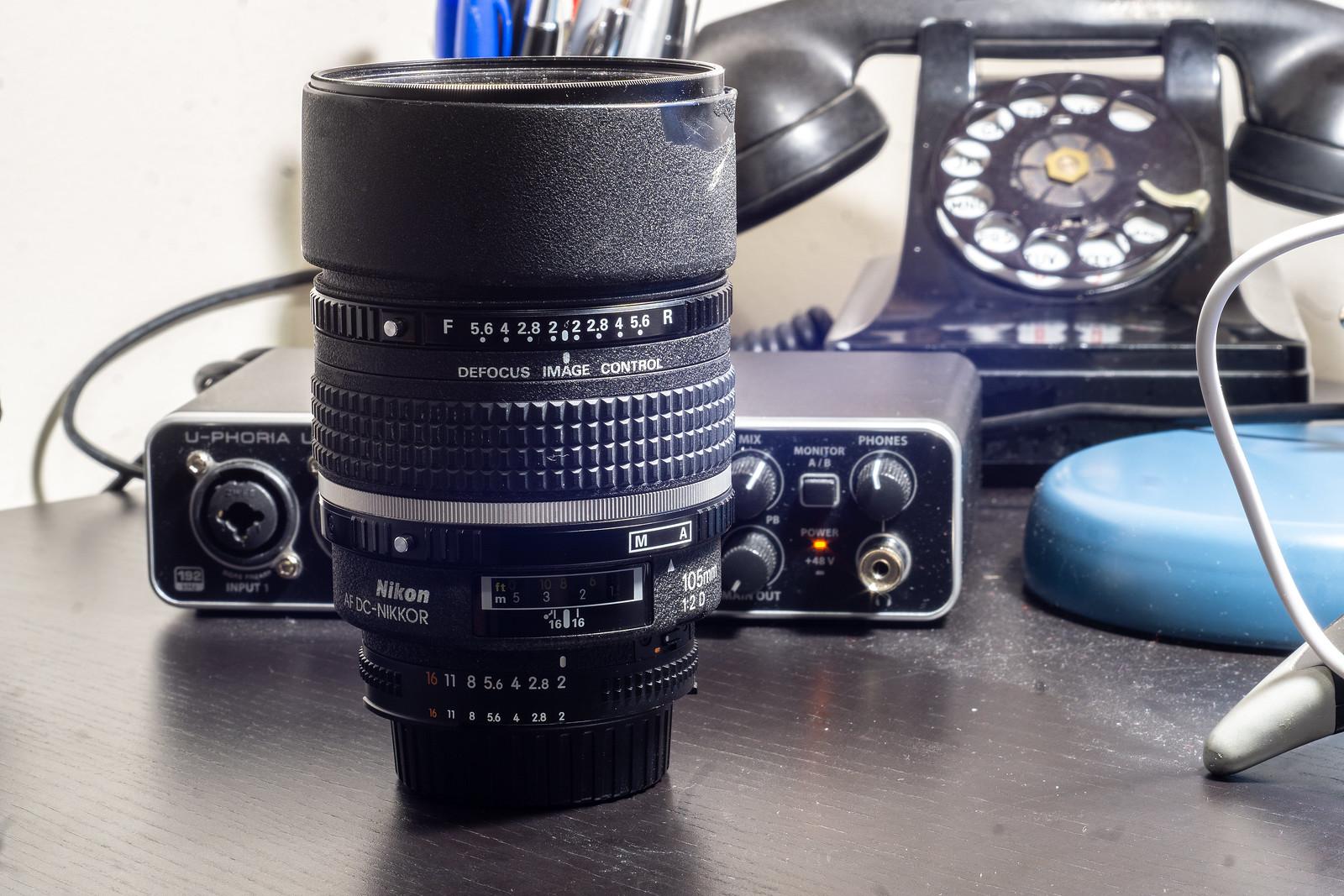 Optical Review Blog No. 10 - Nikon AF DC-Nikkor 105mm 1:2D