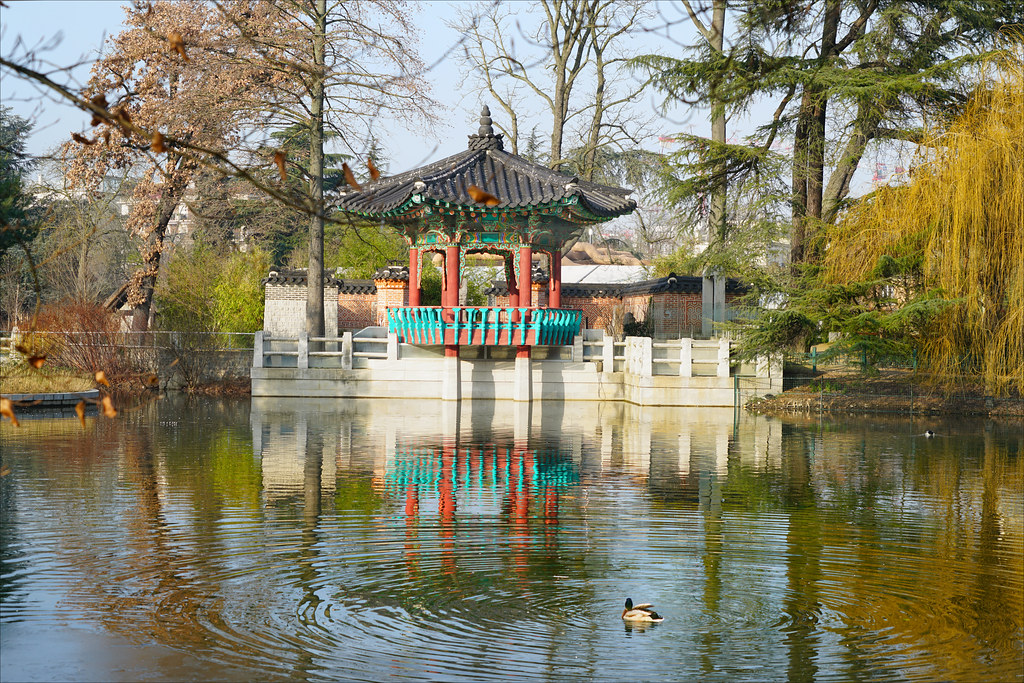 Le Jardin De Seoul Jardin D Acclimatation Paris Flickr
