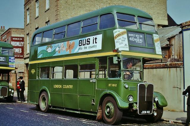 RT1012 JXN40 ---  Bromley North 18-5-74